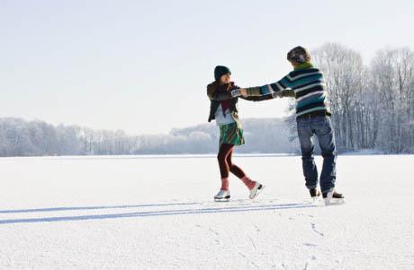 samen schaatsen